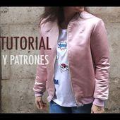 DIY Costura: Como hacer chaqueta bomber para mujer (patrones gratis)