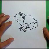 Como dibujar una rana paso a paso 4 | How to draw a frog 4