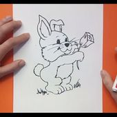 Como dibujar un conejo paso a paso 7 | How to draw a rabbit 7