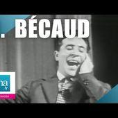 """Gilbert Bécaud """"Les marchés de Provence"""" (live officiel)   Archive INA"""