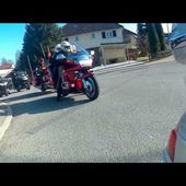 Goldwing Unsersbande - on quitte Rottweil