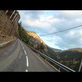 Goldwing Unsersbande - Début montée vers Valberg depuis Guillaumes
