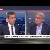 Jean-Claude Mailly invité d'Olivier Galzi