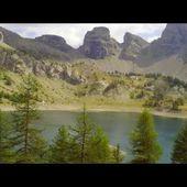 Goldwing Unsersbande - la montée vers le lac d'Allos à pied