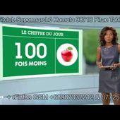 Vitamines et nutriments le gros pepin. 1 pomme de 1950 = 100 pommes de 2015 Journal M6 21 janvier