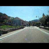 Goldwing Unsersbande ballade Vosges - on quitte Fraize
