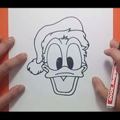 Como dibujar al pato Donald paso a paso 3 - Disney | How to draw Donald duck 3 - Disney