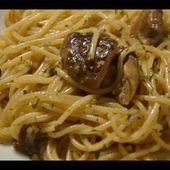 Recette cookeo spaghettis forestières