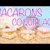 RECETTE MACARON INRATABLE - COQUILLAGE - CARL IS COOKING