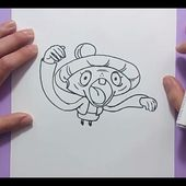 Como dibujar a Cotilleja paso a paso - Yo Kai Watch | How to draw Tattletell - Yo Kai Watch