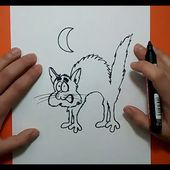 Como dibujar un gato paso a paso 22 | How to draw a cat 22
