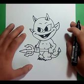 Como dibujar un demonio paso a paso 3 | How to draw a demon 3