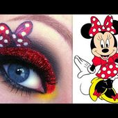 Disney's Minnie Mouse Makeup Tutorial