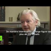Julian Assange : Lafarge a financé la fondation Clinton en 2015 et 2016