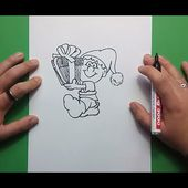 Como dibujar un duende paso a paso 3 | How to draw an elf 3