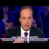 Jean-Christophe Lagarde - On n'est pas couché - 22 novembre 2014 #ONPC
