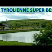 Tyrolienne Super Besse la plus grande de France 07/2014