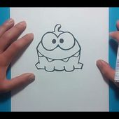 Como dibujar un monstruo paso a paso 18 | How to draw a monster 18