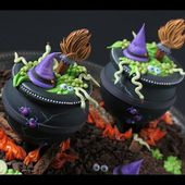 How to Make Cookie Cauldrons - A Dessert Network Collaboration