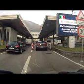 Goldwing - on est à la frontière italienne