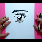 Como dibujar un ojo paso a paso 3 | How to draw an eye 3