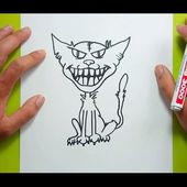 Como dibujar un gato paso a paso 27 | How to draw a cat 27