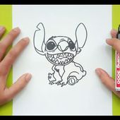 Como dibujar a Stitch paso a paso 2 - Lilo y Stitch | How to draw Stitch 2 - Lilo & Stitch