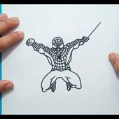 Como dibujar a Spiderman paso a paso 2 | How to draw Spiderman 2