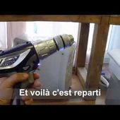 Remplacement batterie Perceuse carrefour