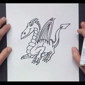 Como dibujar un dragon paso a paso 15 | How to draw one dragon 15