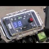 HPD Bike patrol radar device b roll | Houston Police Department