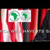 AFRICA WILL HAVE ITS SAY