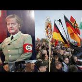 En direct de Dresde pendant la marche anniversaire de Pegida