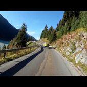 88 Goldwing Unsersbande Tirol 2015 Descente du Kaunertal depuis le sommet 3