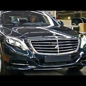 2014 Mercedes S-Class PRODUCTION