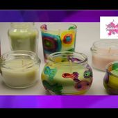 DIY. Comment recycler des bougies // How to Recycle Candles.
