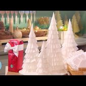 How to Make a Coffee-Filter Tree - Martha Stewart