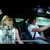 Augusto Farfus and his wife in a M3 in Nürburgring HD