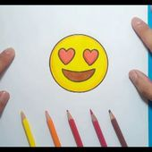 Como dibujar un Emoji paso a paso 3 | How to draw an Emoji 3