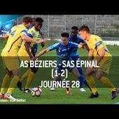 J28 : AS Béziers - SAS Épinal (1-2), le résumé
