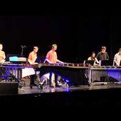 Kolossal concert - percussions du Conservatoire Epinal Avril 2017