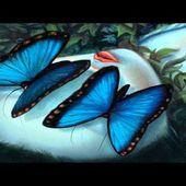 Los Amantes Mariposa - Madame Butterfly de Benjamín Lacombe
