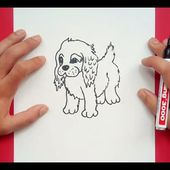 Como dibujar un perro paso a paso 37 | How to draw a dog 37