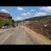 Goldwing Unsersbande bourgogne - traversée Gevrey Chambertin