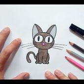 Como dibujar un gato paso a paso 31 | How to draw a cat 31