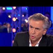 Bernard Henri-Lévy sur le conflit israélo-palestinien On n'est pas couché 6/09/14 #ONPC