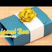 Tutorial - Origami Box in a Box - German Video