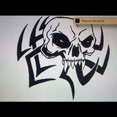 Como dibujar una calavera tribal - Art Academy Atelier Wii U | How to draw a tribal skull