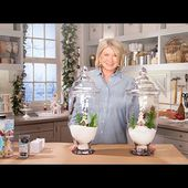 Martha Stewart's Tabletop Holiday Decor - Martha Stewart