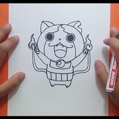 Como dibujar a Jibanyan paso a paso - Yo Kai Watch | How to draw Jibanyan - Yo Kai Watch